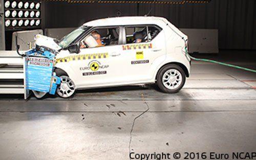 EuroNCAP-Suzuki-Ignis-botsproef